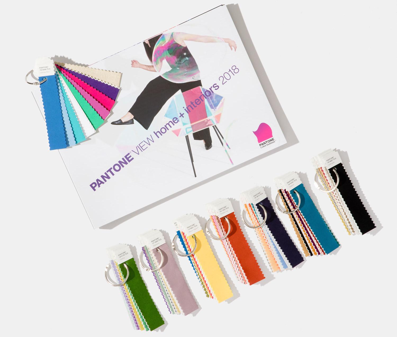 I colori nell'Interior Design, le nuove palette Pantone 2018