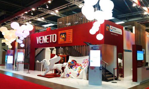 Gli stand realizzati da Tosetto al Vinitaly 2019