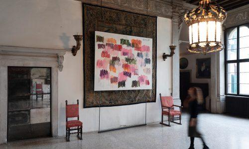 """Tosetto per la mostra""""Förg in Venice"""""""