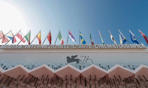 Gli allestimenti di Tosetto al Festival del Cinema di Venezia 2019