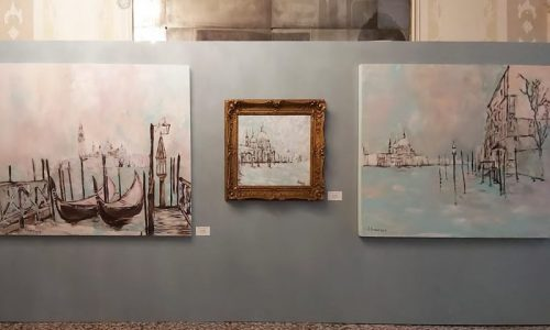 "Tosetto for the exhibition ""Verso sera a Venezia"""