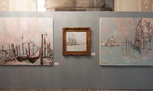 """Tosetto per la mostra """"Verso sera a Venezia"""""""