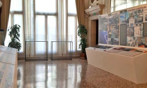"Tosetto for ""The 50 years of the Veneto Region"" exhibition"