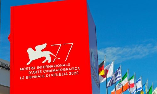 Tosetto at the 2020 Venice Film Festival
